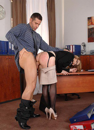 Teen In Office Pics